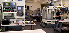 Western Widgets CNC, Manufacturing Shop Floor